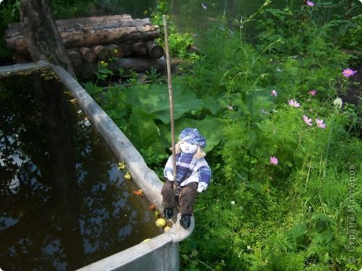 Рыбачок для моего молодого друга Виталика. фото 2