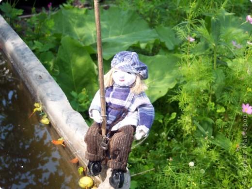Рыбачок для моего молодого друга Виталика. фото 1