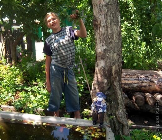 Рыбачок для моего молодого друга Виталика. фото 3