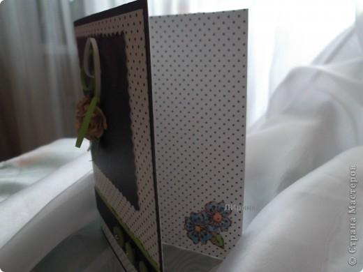 Вот такая у меня получилась открытка для женщины фото 3