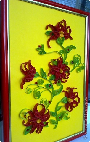 Красненькие цветочки