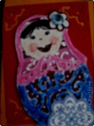 Матрехи ,именно так называла матрешек моя дочь.когда была маленькой.Поэтому эта серия АТСок носит такое название. фото 5