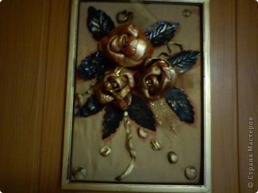 Панно цветы фото 3