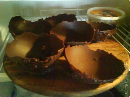 Вот такая тарелочка получается, в нее можно положить любой десерт: фрукты , мороженное фото 4