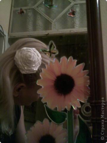 цвете за коса фото 2
