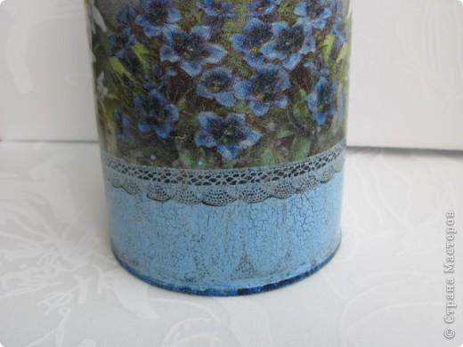 """Набор """"Альпийские цветы"""": бидончик-вазочка; короб для специй, вешалка для полотенца.  фото 4"""
