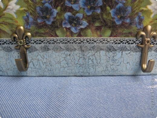 """Набор """"Альпийские цветы"""": бидончик-вазочка; короб для специй, вешалка для полотенца.  фото 11"""