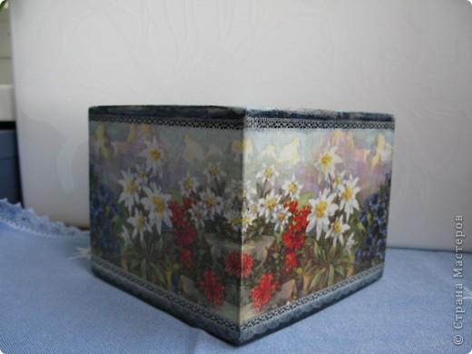 """Набор """"Альпийские цветы"""": бидончик-вазочка; короб для специй, вешалка для полотенца.  фото 7"""