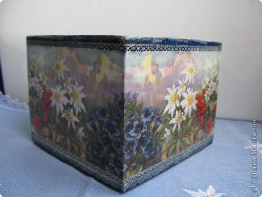 """Набор """"Альпийские цветы"""": бидончик-вазочка; короб для специй, вешалка для полотенца.  фото 8"""