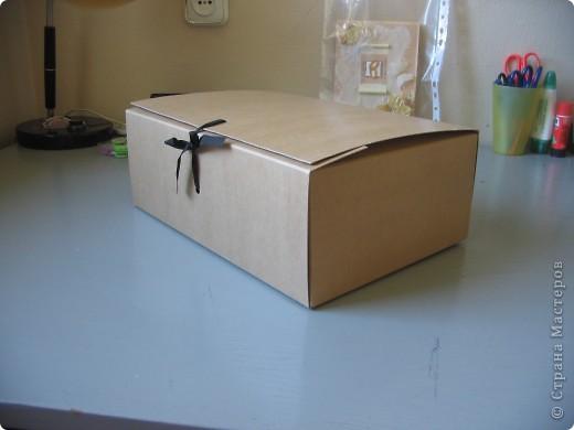 Вот такую замечательную коробочку для свадебных открыток я преподнесла молодожёнам.  фото 4