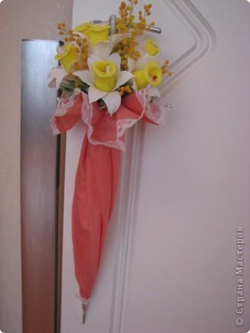 Зонт красный фото 3
