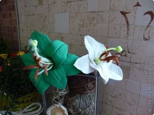 Пробуем лепить лилии... фото 3