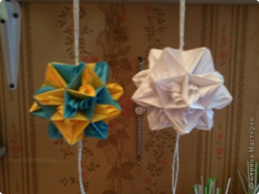 Кусудама Оригами мои