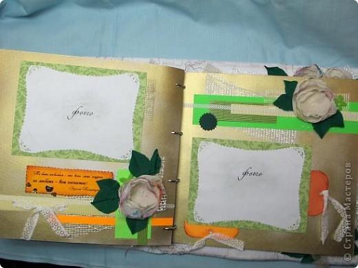 Итак, продолжаем! Начало можно посмотреть здесь: http://stranamasterov.ru/node/225421 Открываем первый разворот. Под подложкой для фото, кармашек для тэга, на котором стихи про любовь!...Ну с кого еще брать пример в любовных признаниях. как не с классиков?! фото 29