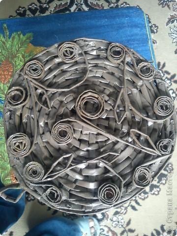 Кракелюрчик на ПВА, салфетка, акрил, лак. фото 6