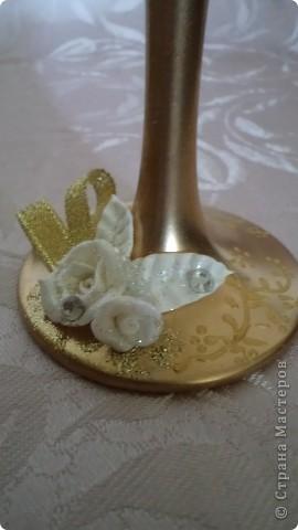 """И опять набор! И опять золото... Так хотелось назвать набор """"золотая лихорадка""""- в городе бум на золотые наборы, и все""""на одно лицо"""". Даже лебедей из набора """" А белый лебедь..."""" заказали тоже в золоте.... фото 5"""