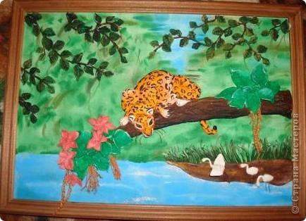 Вот такую картину я сотворила когда болела ангиной....) фото 2