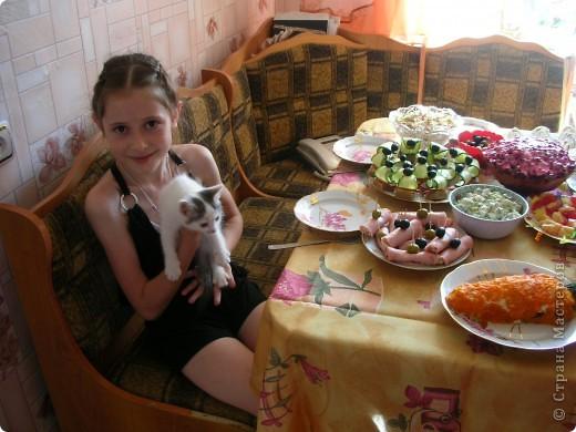 Десерт на день рождения дочери, автора идеи не знаю, т.к. картинку нашла в яндексе. фото 2