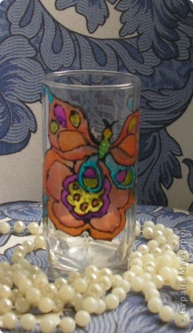 Витражный стаканчик фото 2