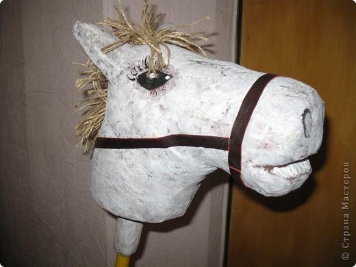 Эту лошадку я сделала для своего сыночка по замечательному МК Илоны http://stranamasterov.ru/node/146321?c=favorite фото 1
