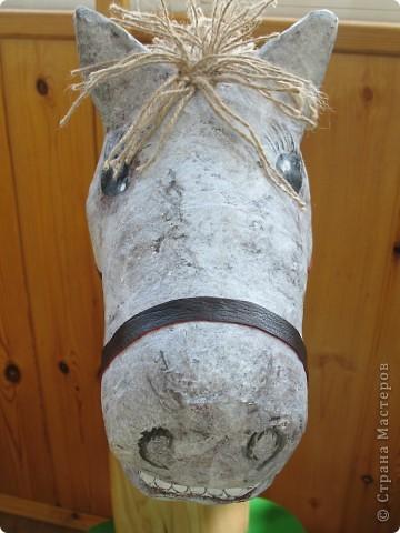Эту лошадку я сделала для своего сыночка по замечательному МК Илоны http://stranamasterov.ru/node/146321?c=favorite фото 2