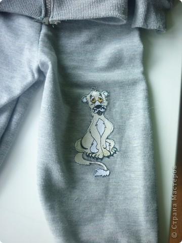 модный костюмчик- из папиной кофты фото 11