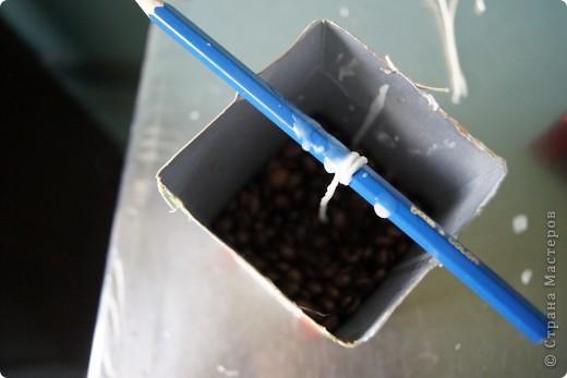 Кофейная свеча фото 6