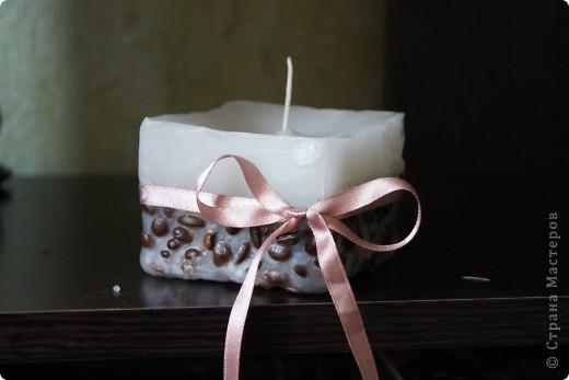 Кофейная свеча фото 1