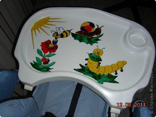 Вот такой столик для кормления у меня получился фото 1