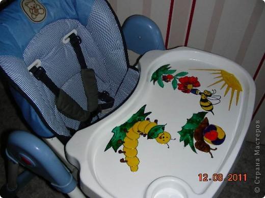 Вот такой столик для кормления у меня получился фото 2