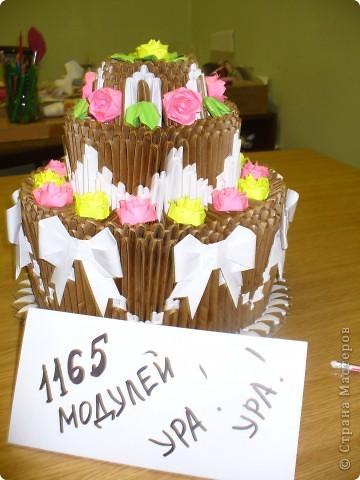 Делала я этот торт на выставку. Дался он мне тяжело. За основу взяла всем известный торт Т.Просняковой. фото 2