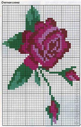 Пуловер с розами фото 2