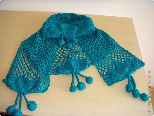шапочка и шарф фото 1