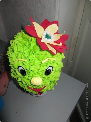 Вот такой  кактус получился. фото 2
