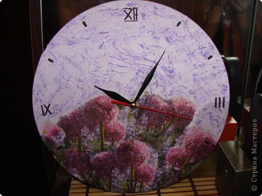 Часы на виниловой пластинке фото 2