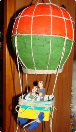 На выставку в детский сад сыну смастерили  аэроплан . фото 4