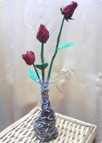 реальные сушеные розы фото 1