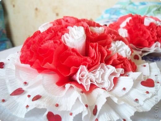 украшение  на свадебный стол фото 1