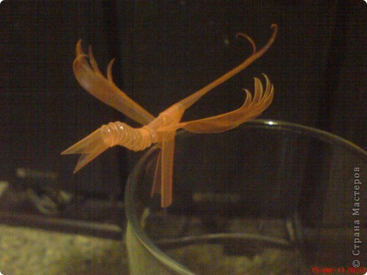Поделки из коктейльных трубочек фото 1