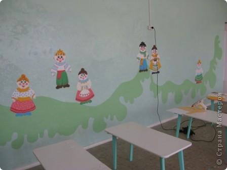 Свою трудовую деятельность я начинала в детском саду, уже 17 лет не там, а тянет....По просьбе знакомой воспитательницы Марины я изредка помогаю ей (к ее чести не безвозмездно, но и не обдираю). К этому учебному году у нас получилось вот так фото 4