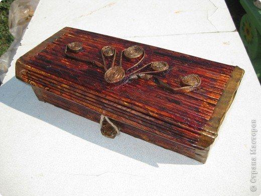 Сделан из коробки от картриджа фото 2