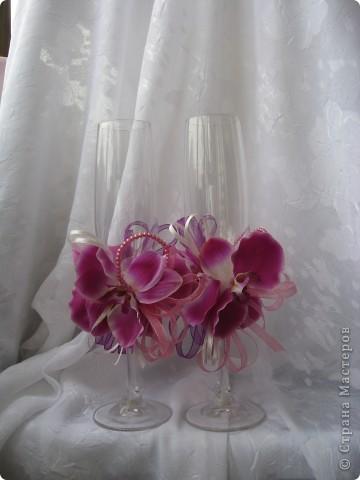 """Свадебный набор """"Орхидеи"""" фото 2"""
