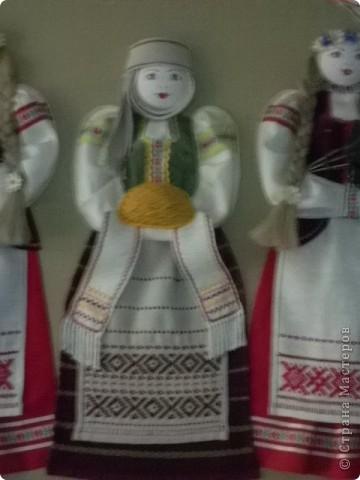 Панно в национальном стиле.  Фото в одной школе города Минска. фото 5