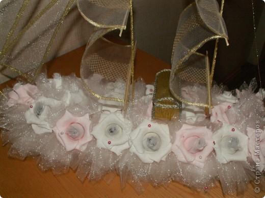 конечно просится фигурка жениха и невесты, но заказчица отказалась... фото 4