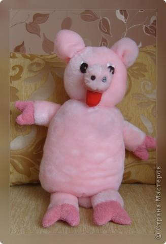 Эту свинку я подарила маме на 8 Марта фото 3