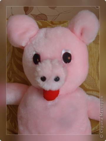 Эту свинку я подарила маме на 8 Марта фото 1