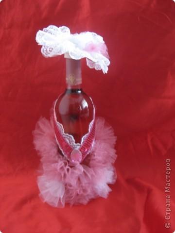 Нарядные бутылки фото 4