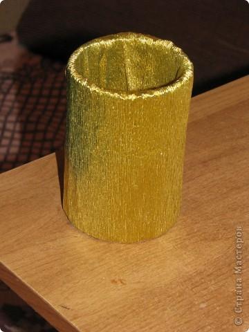 Подарочная коробочка из рулончиков от скотча фото 5