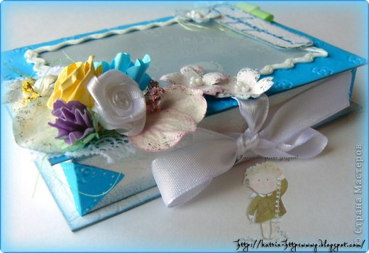 Коробочка для новорожденного,окошечко из кальки с детским рисунком. фото 4