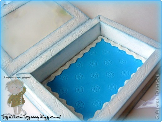Коробочка для новорожденного,окошечко из кальки с детским рисунком. фото 5